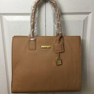 Joy & Iman Leather Hand Bag